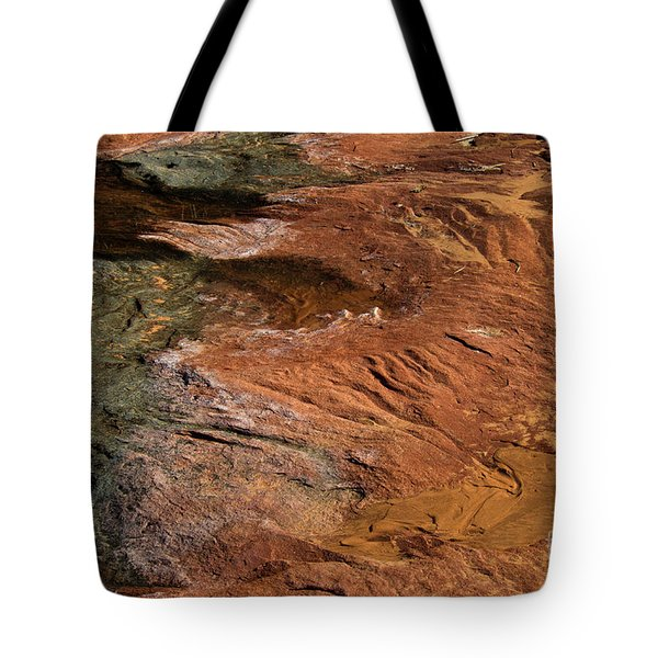 Designs In Stone Tote Bag by Kathy McClure