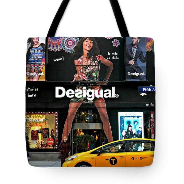 Desigual Tote Bag by Diana Angstadt