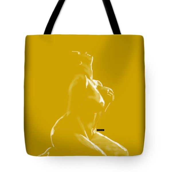 Tote Bag featuring the mixed media Desire by TortureLord Art