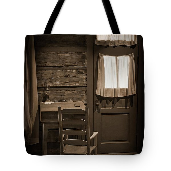 Desk And Chair Tote Bag