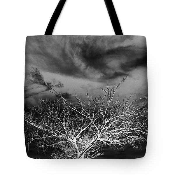 Tote Bag featuring the photograph Desolate Feel by Yvonne Emerson AKA RavenSoul