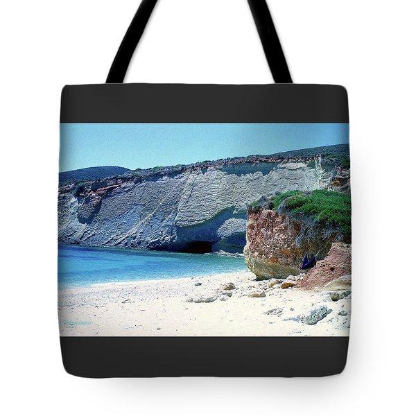 Desolated Island Beach Tote Bag