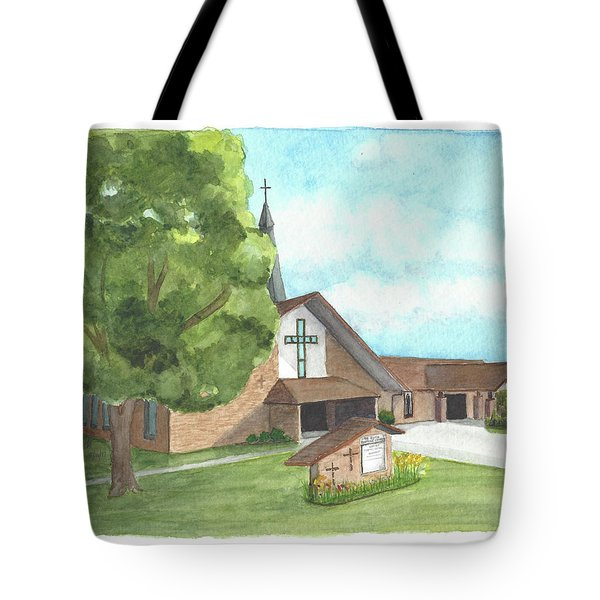 De Soto Baptist Church Tote Bag