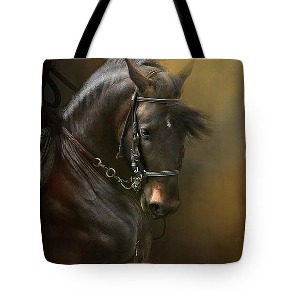 Desparate' In Gold Tote Bag by Kathy Russell