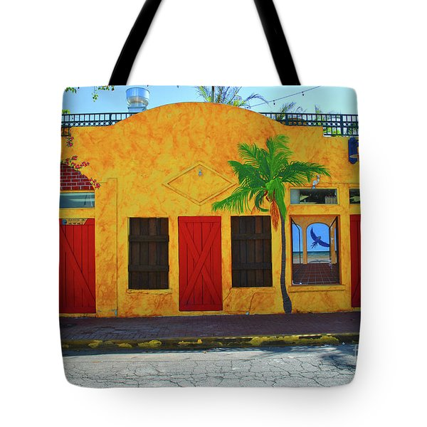 Tote Bag featuring the photograph Desperado Palm by Jost Houk