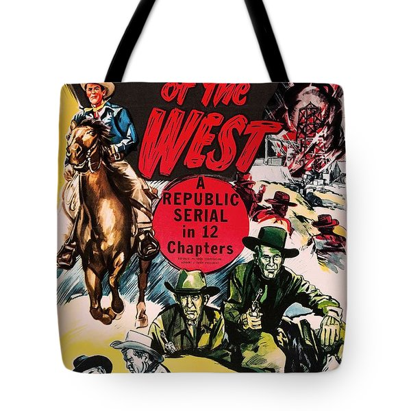Desperadoes Of The West 1950 Tote Bag