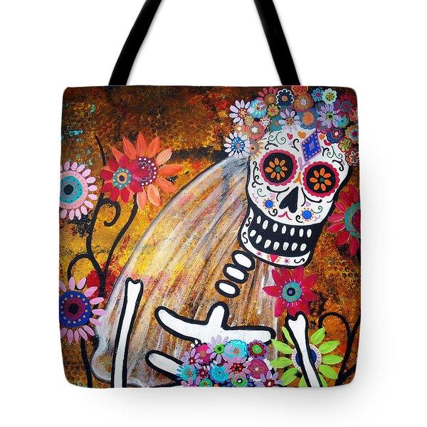 Desposada Tote Bag by Pristine Cartera Turkus