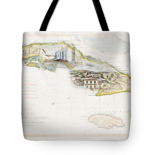 Destination Trinidad Tote Bag