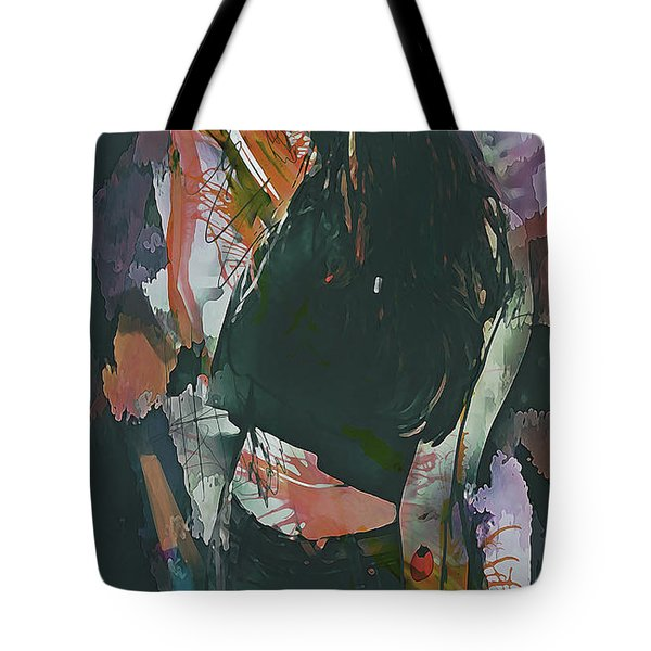 Destinations Abstract Portrait Tote Bag