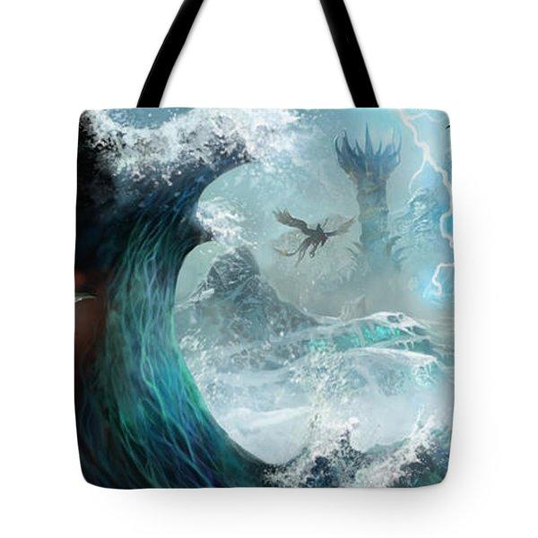 Destiny Of Velious Tote Bag