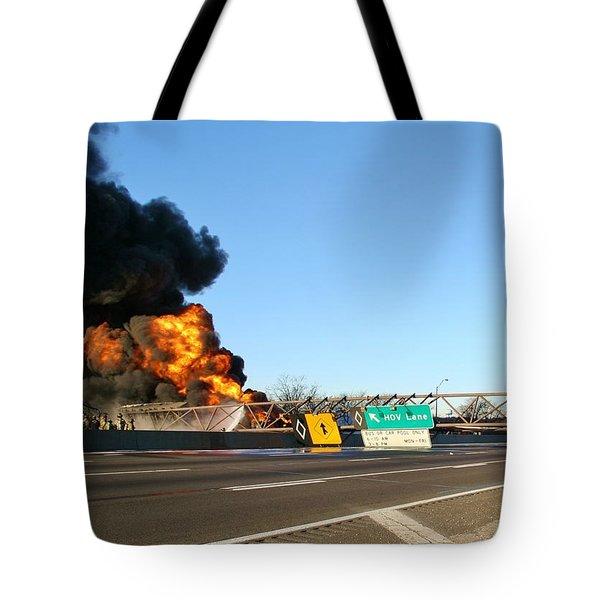 Destruction Of Signs Tote Bag