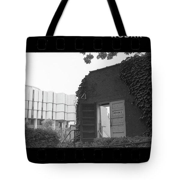 Destruction Of The Speech Annex, 1980 Tote Bag