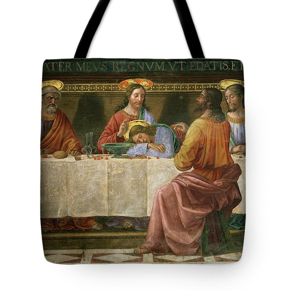 Detail From The Last Supper Tote Bag