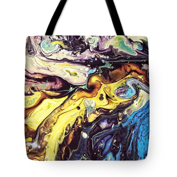 Detail Of Conjuring Tote Bag