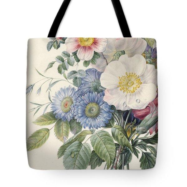 Detail Of Flowers Tote Bag