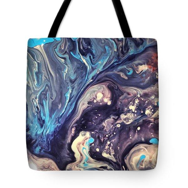 Detail Of Fluid Painting 2 Tote Bag