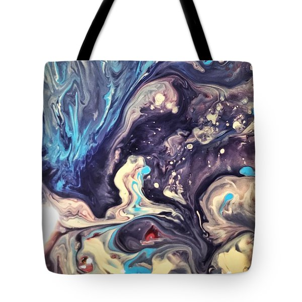 Detail Of Fluid Painting 2 Tote Bag