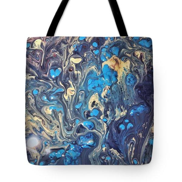 Detail Of Fluid Painting 3 Tote Bag