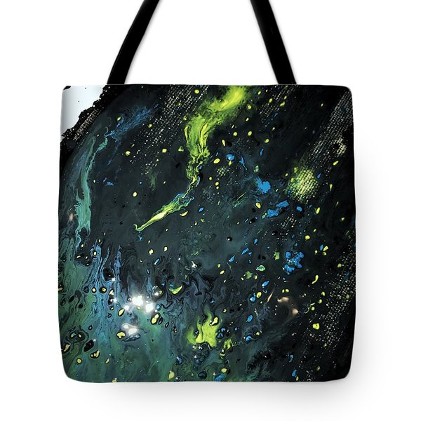 Detail Of Mixed Media Painting 2 Tote Bag