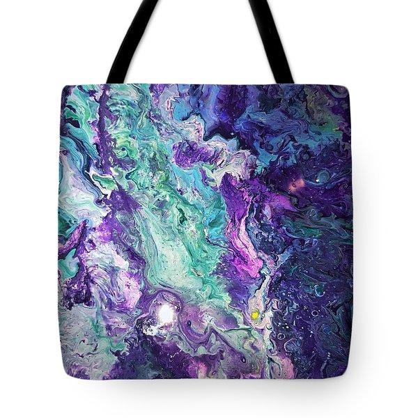 Detail Of Waves 3 Tote Bag