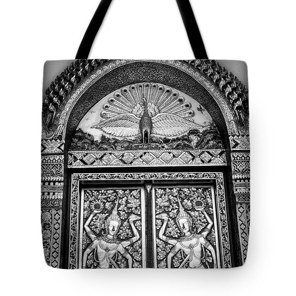 Detail On The Doors Tote Bag