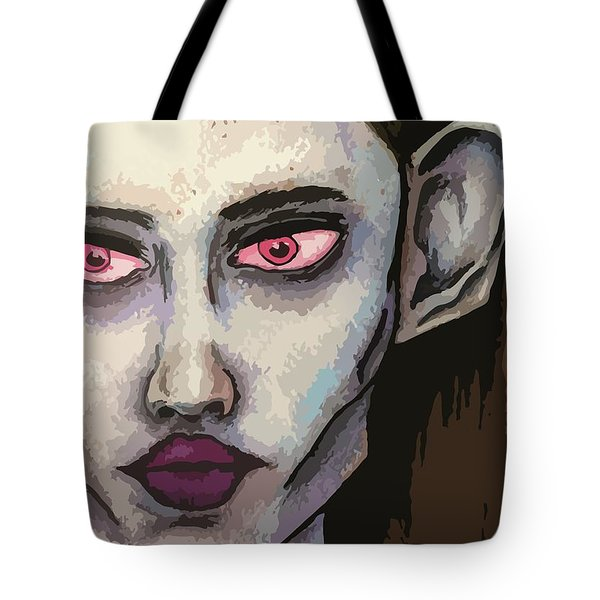 Detailed Beauty Tote Bag