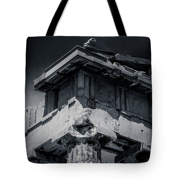 Details From The Parthenon - Greece Tote Bag