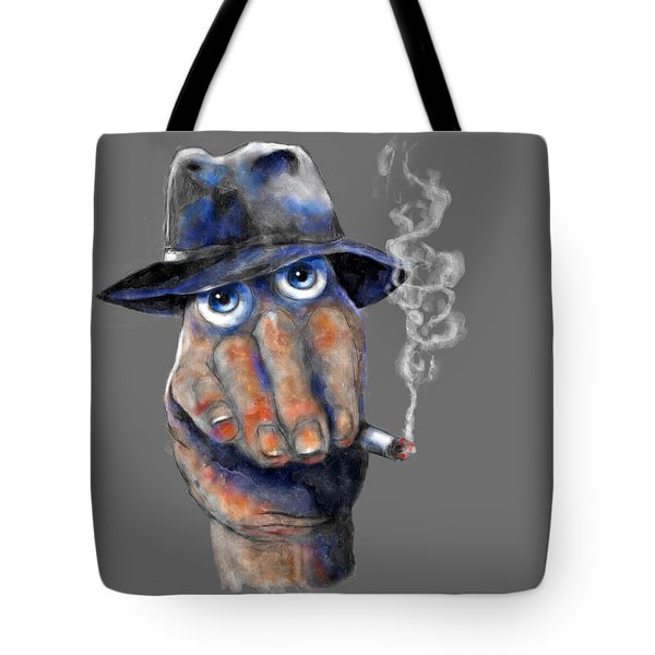 Detective Hand Tote Bag