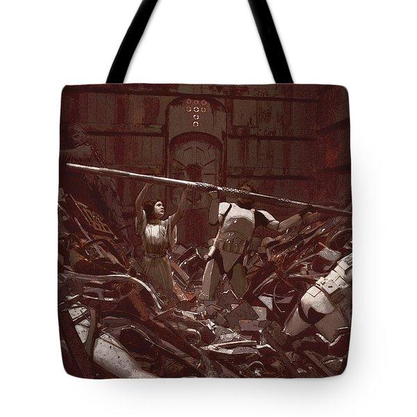 Garbage Compactor 3263827 Tote Bag