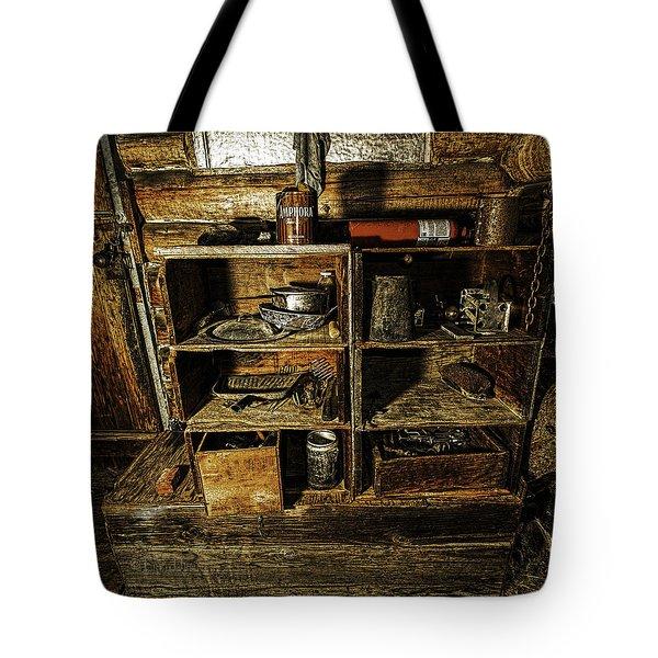 Detrius Of Life Tote Bag