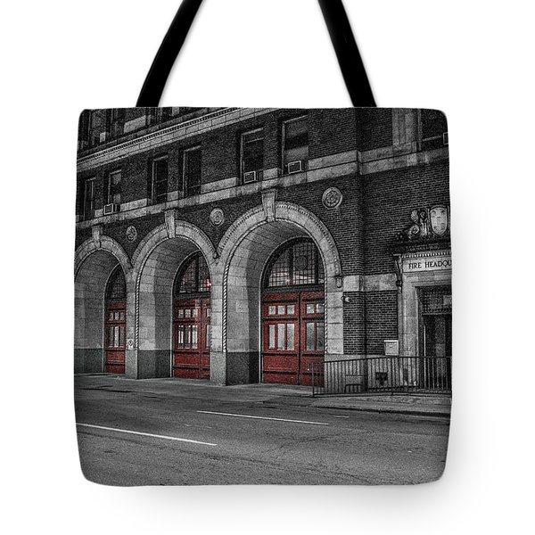 Detroit Fire Department Headquarters  Tote Bag