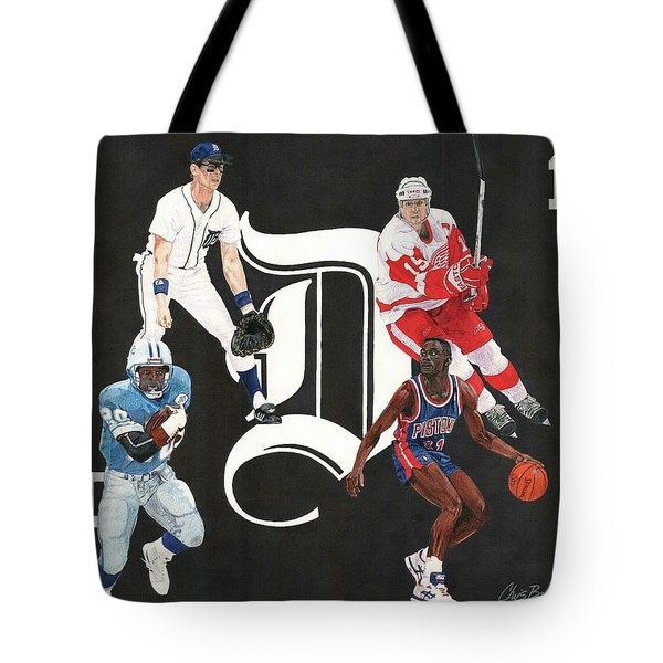 Legends Of The D Tote Bag