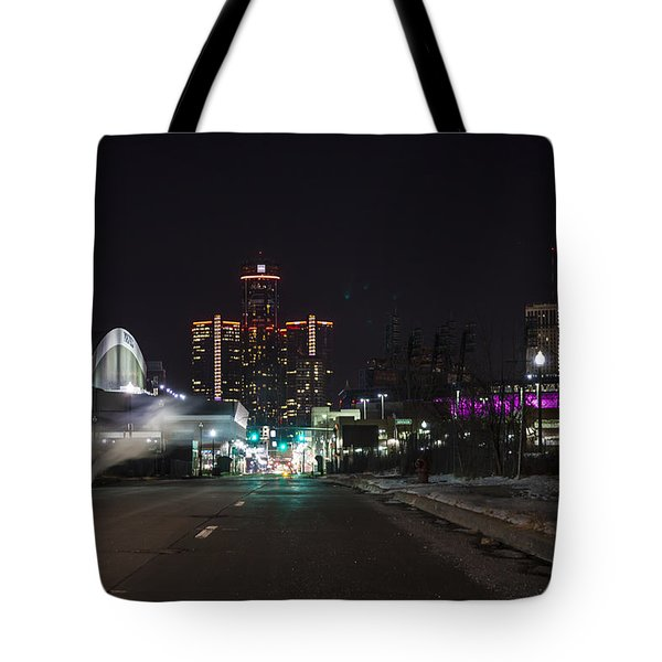 Tote Bag featuring the photograph Detroit Michigan by Nicholas Grunas