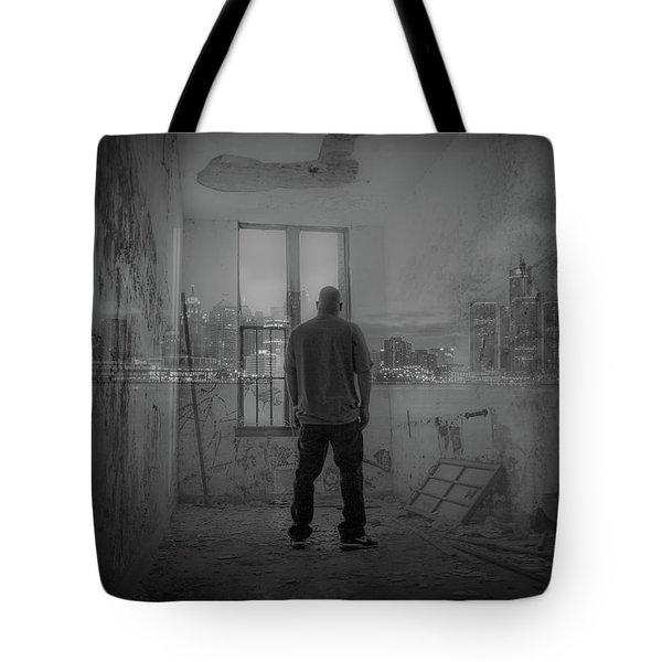 Detroit Urbex  Tote Bag