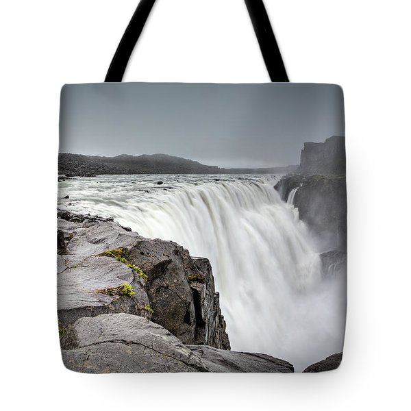 Dettifoss Tote Bag by Brad Grove