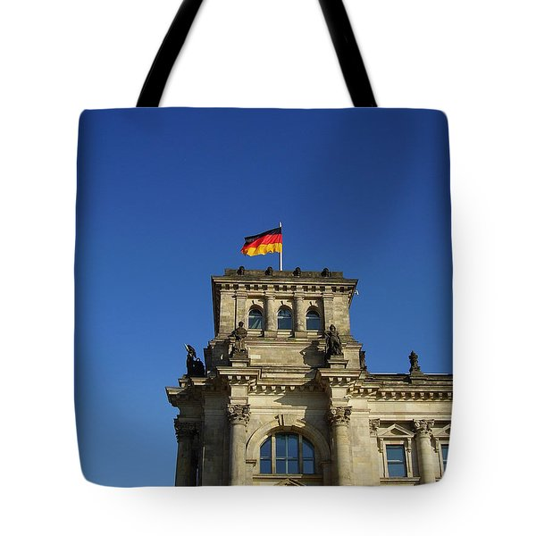 Deutscher Bundestag II Tote Bag