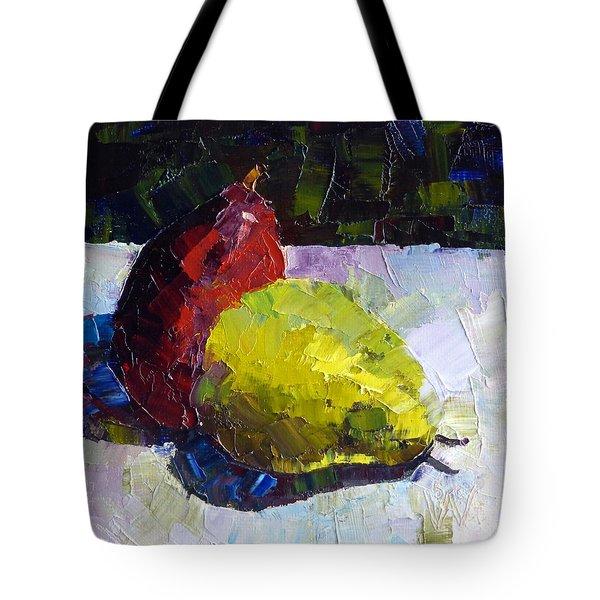 Deux D'anjou Tote Bag by Susan Woodward