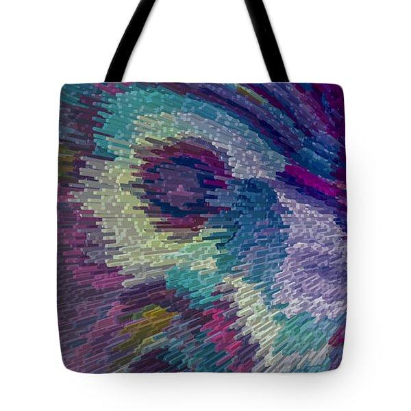 Genetic Modified Iris Tote Bag