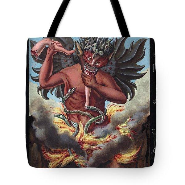 Devil, 1057 Tote Bag