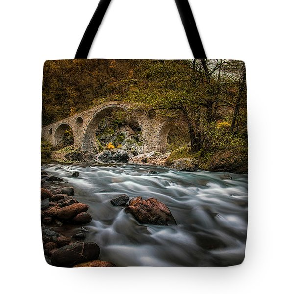 Devil's Bridge 14/11/17 Tote Bag