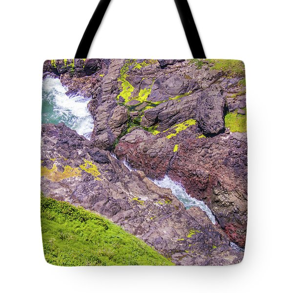 Tote Bag featuring the photograph Devils Crack by Jonny D
