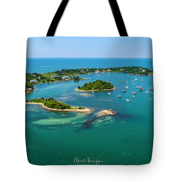 Devils Foot Island Tote Bag