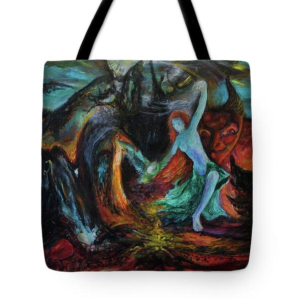 Devils Gorge Tote Bag by Christophe Ennis