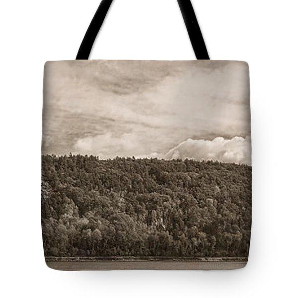 Devil's Lake Autumn Tint Tote Bag