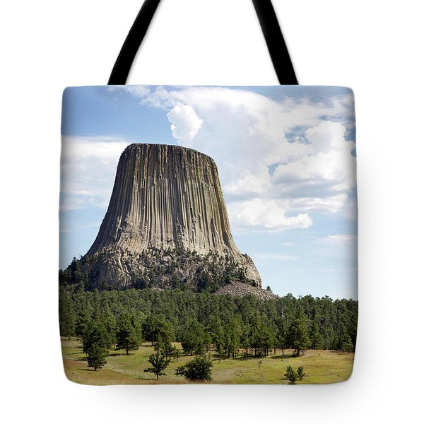 Devils Tower National Monument Tote Bag