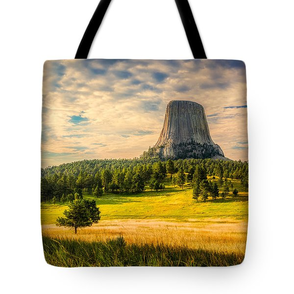 Devil's Tower - The Other Side Tote Bag