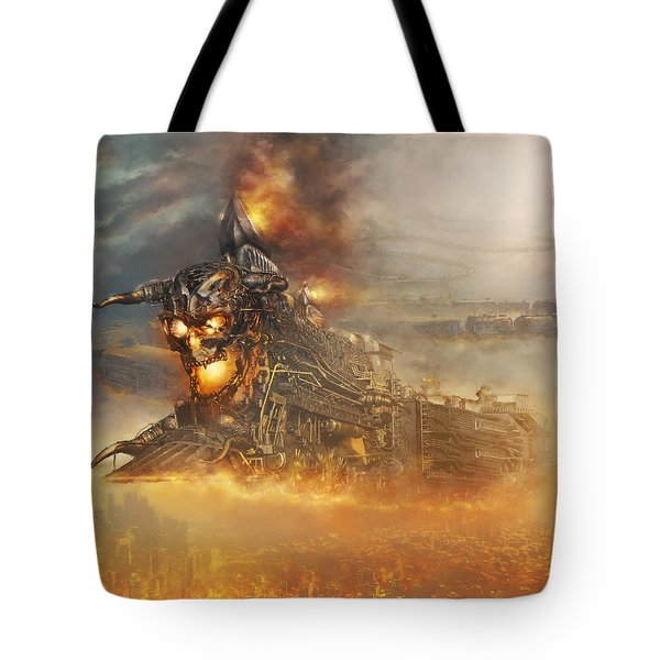 Devils Train 2 Tote Bag