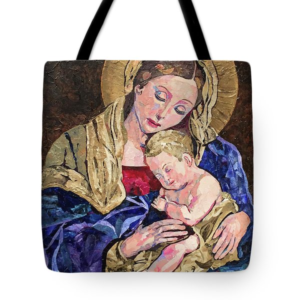 Devine Intervention Tote Bag by Pat Craft