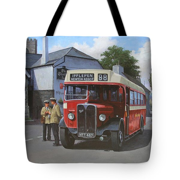 Devon General Aec Regal. Tote Bag by Mike  Jeffries
