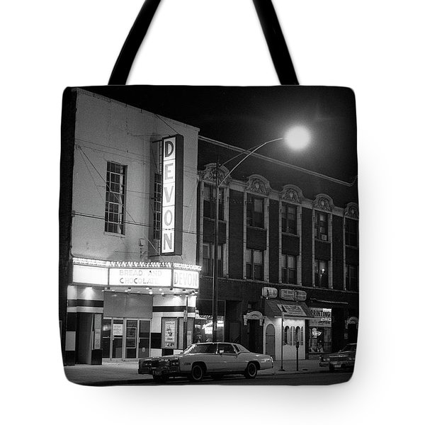 Devon Theatre, 1979 Tote Bag
